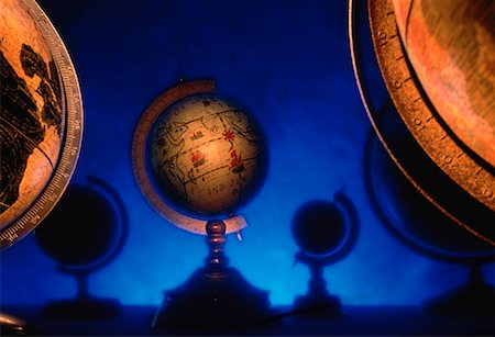 Antique Globes Stock Photo - Rights-Managed, Code: 700-00023099