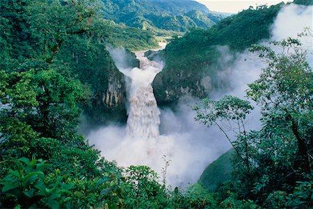 San Rafael Falls Quijos River, Andes Mountains Napo Province, Ecuador Stock Photo - Rights-Managed, Code: 700-00023234