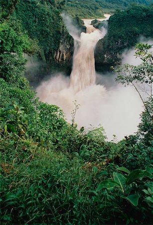 San Rafael Falls Quijos River, Andes Mountains Napo Province, Ecuador Stock Photo - Rights-Managed, Code: 700-00023235