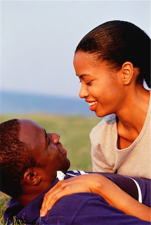 peter griffith - Couple Embracing Outdoors Stock Photo - Rights-Managed, Code: 700-00031598