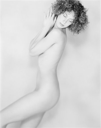 Portrait of Nude Woman Stock Photo - Rights-Managed, Code: 700-00032820