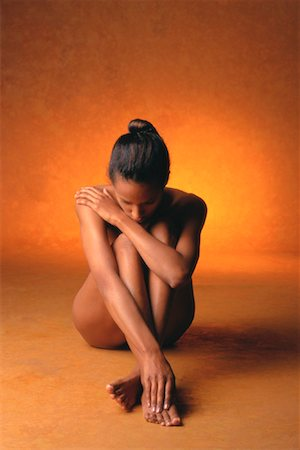 Portrait of Nude Woman Stock Photo - Rights-Managed, Code: 700-00033025