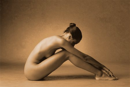Portrait of Nude Woman Stock Photo - Rights-Managed, Code: 700-00033026