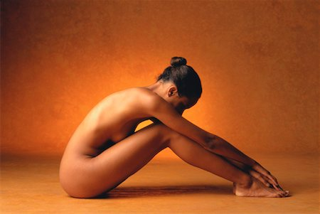 Portrait of Nude Woman Stock Photo - Rights-Managed, Code: 700-00033027