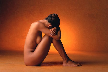 Portrait of Nude Woman Stock Photo - Rights-Managed, Code: 700-00033028