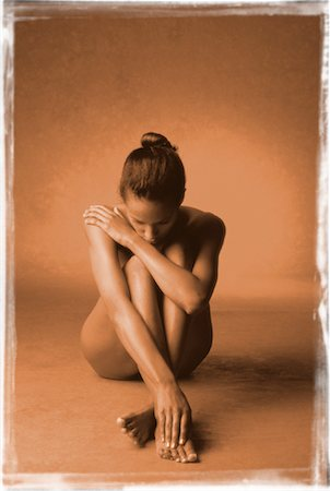 Portrait of Nude Woman Stock Photo - Rights-Managed, Code: 700-00033031