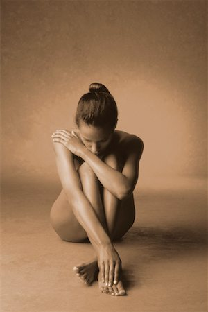 Portrait of Nude Woman Stock Photo - Rights-Managed, Code: 700-00033385
