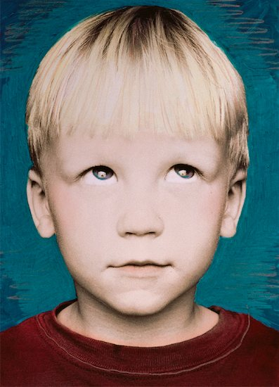 Portrait of Boy Rolling His Eyes Stock Photo - Premium Rights-Managed, Artist: Andrew Kolb, Image code: 700-00047118