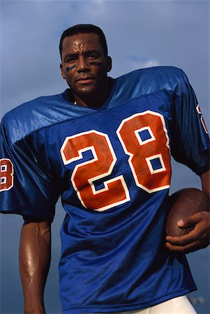 peter griffith - Portrait of Male Football Player Outdoors Stock Photo - Rights-Managed, Code: 700-00048316