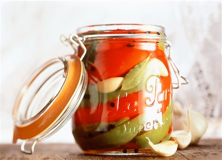 Jar of Preserves Stock Photo - Rights-Managed, Code: 700-00041272