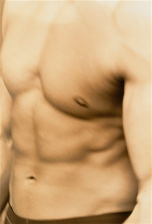 Close-Up of Man's Torso Stock Photo - Rights-Managed, Code: 700-00041538