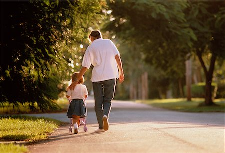 Mother and Daughter Walking Outdoors Stock Photo - Rights-Managed, Code: 700-00042850