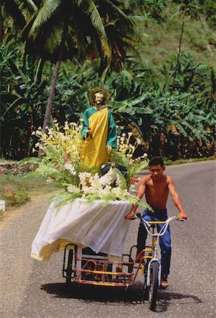 pictures philippine festivals philippines - Good Friday Procession Negros Province, Philippines Stock Photo - Rights-Managed, Code: 700-00050308