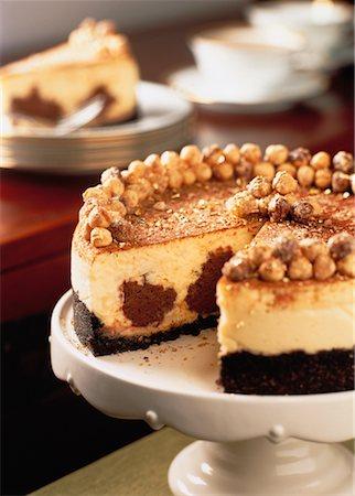 Mascarpone and Chocolate Cheesecake Stock Photo - Rights-Managed, Code: 700-00052790