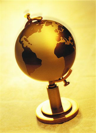 Globe Atlantic Ocean Stock Photo - Rights-Managed, Code: 700-00061900
