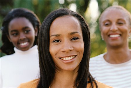 peter griffith - Portrait of Grandmother, Mother And Daughter Outdoors Stock Photo - Rights-Managed, Code: 700-00074154