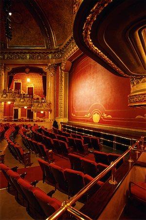 Interior of Elgin Theatre, Toronto, Ontario, Canada Stock Photo - Rights-Managed, Code: 700-00074424