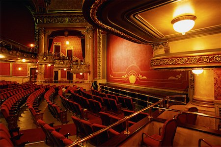 Interior of Elgin Theatre, Toronto, Ontario, Canada Stock Photo - Rights-Managed, Code: 700-00074425