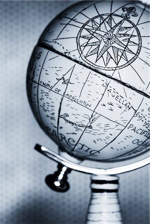 Antique Globe Stock Photo - Rights-Managed, Code: 700-00078179