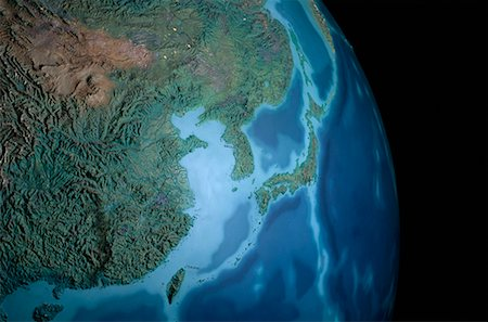 Terrestrial Globe Asia Stock Photo - Rights-Managed, Code: 700-00072329