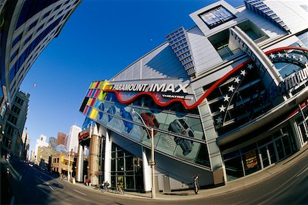 Paramount IMAX Theatre and Street Toronto, Ontario, Canada Stock Photo - Rights-Managed, Code: 700-00084387