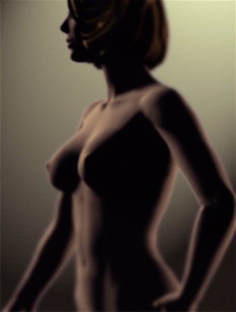 Computer Generated Figure of Nude Woman Stock Photo - Rights-Managed, Code: 700-00083122