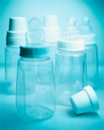 Baby's Bottles Stock Photo - Rights-Managed, Code: 700-00096996