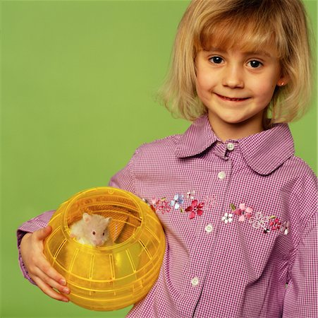 Child Holding Pet Hamster Stock Photo - Rights-Managed, Code: 700-00098404