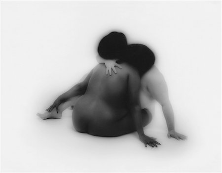 Nude Couple Hugging Stock Photo - Rights-Managed, Code: 700-00090107