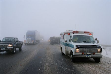 Highway Accident Stock Photo - Rights-Managed, Code: 700-00090426