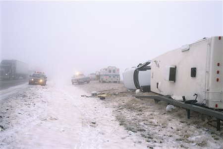 Highway Accident Stock Photo - Rights-Managed, Code: 700-00090430