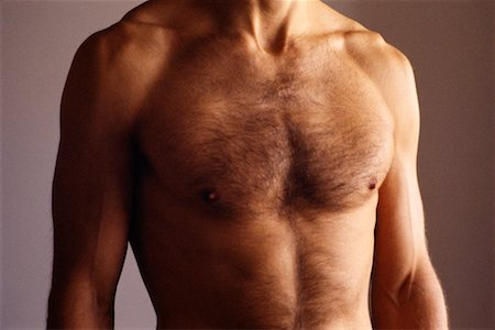 Man's Chest Stock Photo - Rights-Managed, Code: 700-00091728