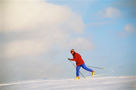 Cross Country Skiing Stock Photo - Rights-Managed, Code: 700-00091989