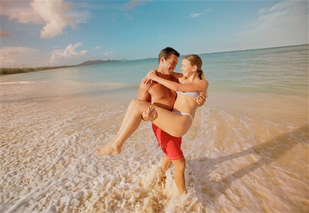 peter griffith - Couple on Beach Stock Photo - Rights-Managed, Code: 700-00093466