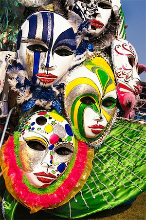 Detail of Caribana Costume Stock Photo - Rights-Managed, Code: 700-00155282