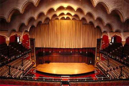 Theatre Interior Stock Photo - Rights-Managed, Code: 700-00155510