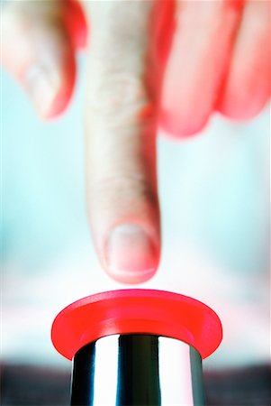 pinball - Panic Button Stock Photo - Rights-Managed, Code: 700-00157295