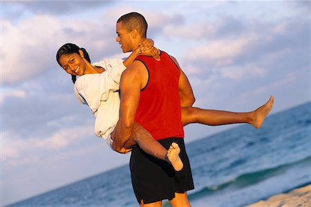 Couple on Beach Stock Photo - Rights-Managed, Code: 700-00158549