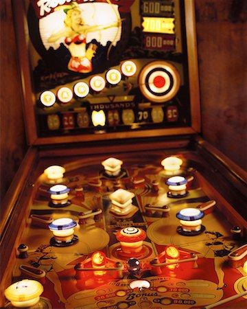 pinball - Pinball Game Stock Photo - Rights-Managed, Code: 700-00150454
