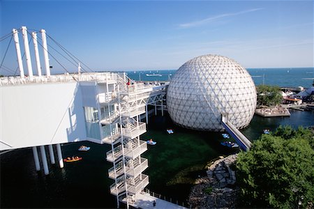 Cinesphere and Skydeck Toronto, Ontario, Canada Stock Photo - Rights-Managed, Code: 700-00152095