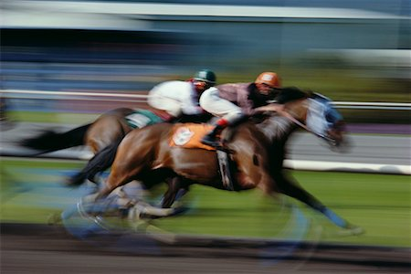 Horse Races Stock Photo - Rights-Managed, Code: 700-00164036