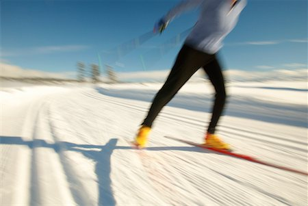Woman Cross Country Skiing Stock Photo - Rights-Managed, Code: 700-00161273