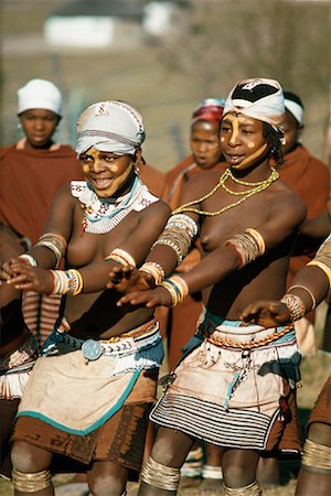 Indigenous Girls Dancing Umtata, Transkei South Africa Stock Photo - Rights-Managed, Code: 700-00186949