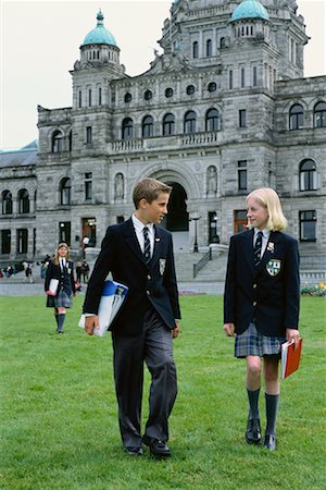 Students at Private School Stock Photo - Rights-Managed, Code: 700-00187863
