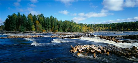 Gatineau River, Quebec, Canada Stock Photo - Rights-Managed, Code: 700-00188933