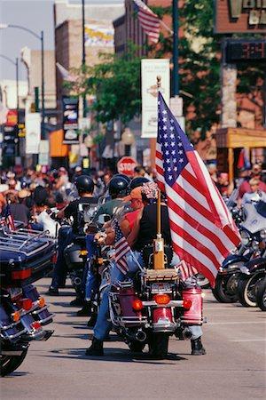 Harley Davidson Rally Sturgis, South Dakota, USA Stock Photo - Rights-Managed, Code: 700-00189344