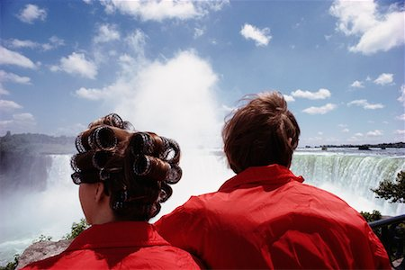 Couple at Niagara Falls Ontario, Canada Stock Photo - Rights-Managed, Code: 700-00182468