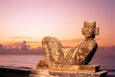 Chac Mool Cancun, Mexico Stock Photo - Rights-Managed, Code: 700-00183750