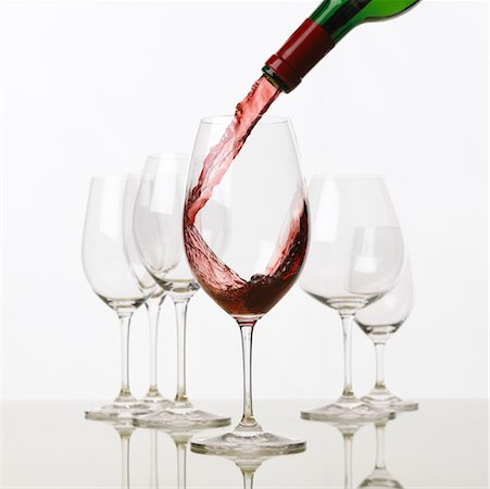 Pouring Red Wine Stock Photo - Rights-Managed, Code: 700-00196544