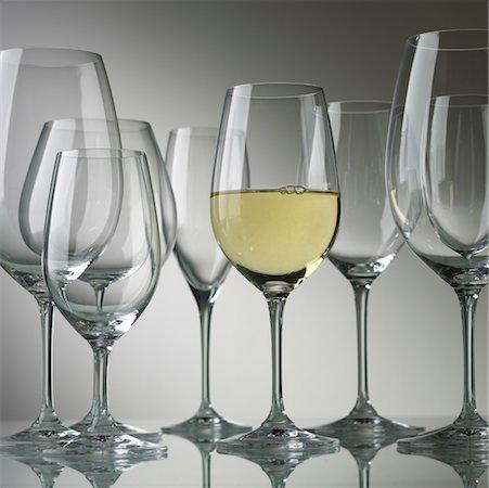 White Wine Stock Photo - Rights-Managed, Code: 700-00196548